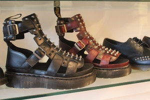 studded dr martens sandals