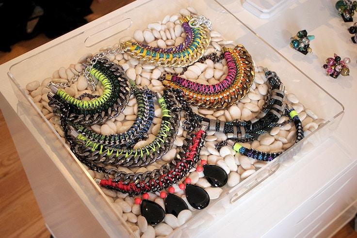 stylist box necklaces