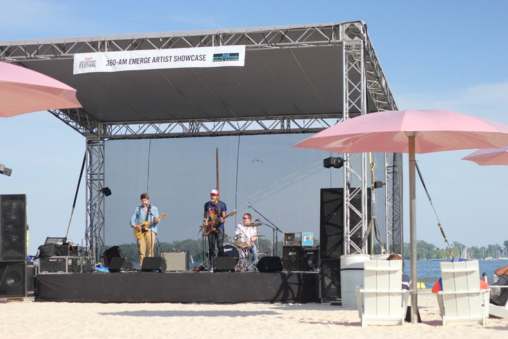sugar beach emerge festival