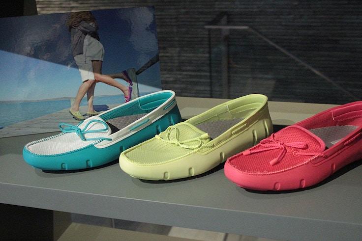 swims womens boat shoe