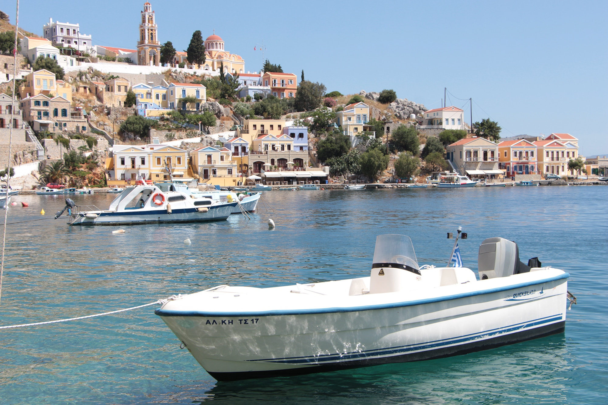 symi greece port dodecanese