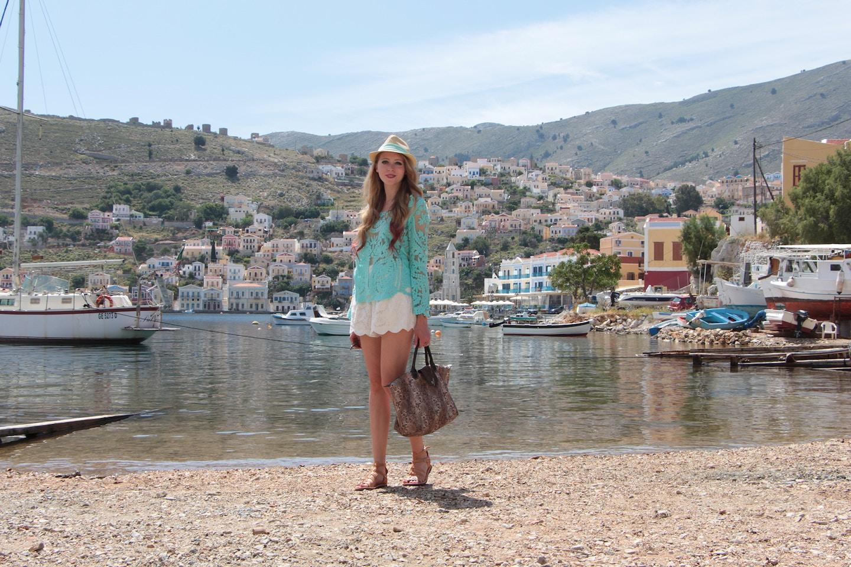 symi greece port