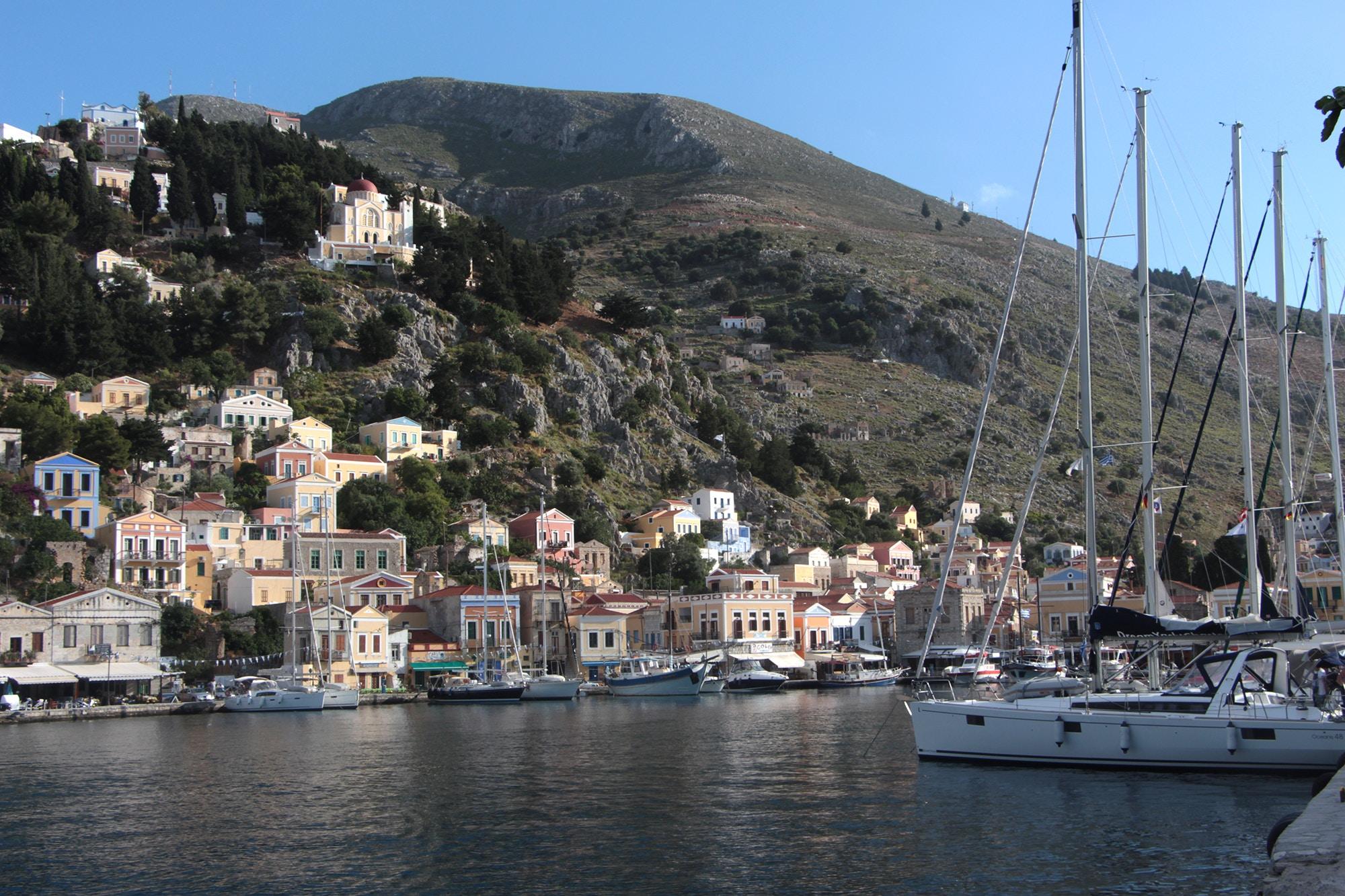 symi port greece