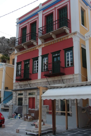 symi red house ww2