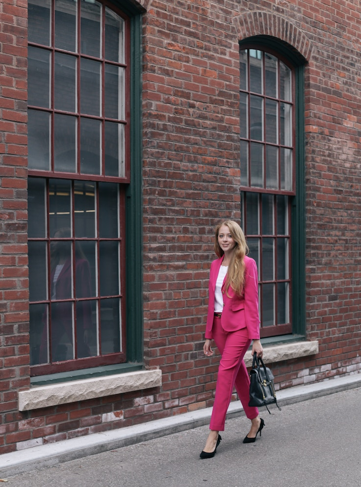 talbots pink suit (1 of 10)