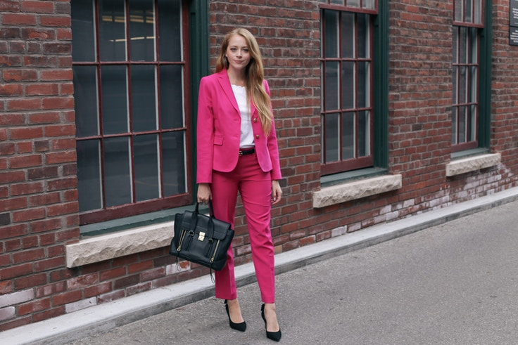 talbots pink suit (4 of 10)