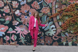 talbots pink suit (8 of 10)