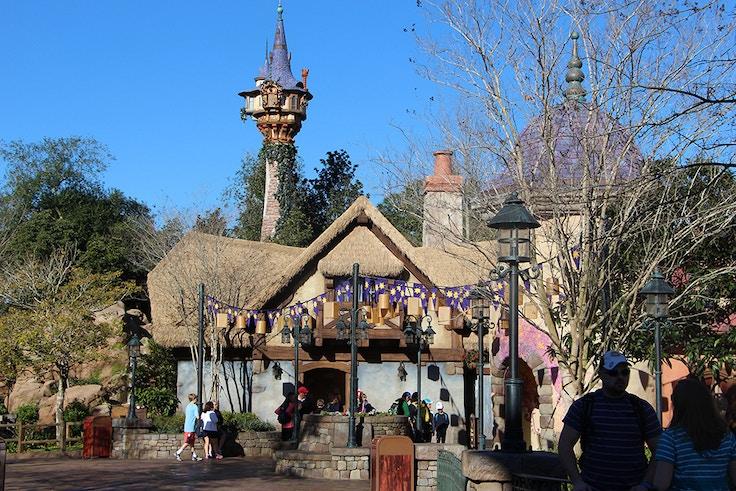 tangled rapunzel tower disney world