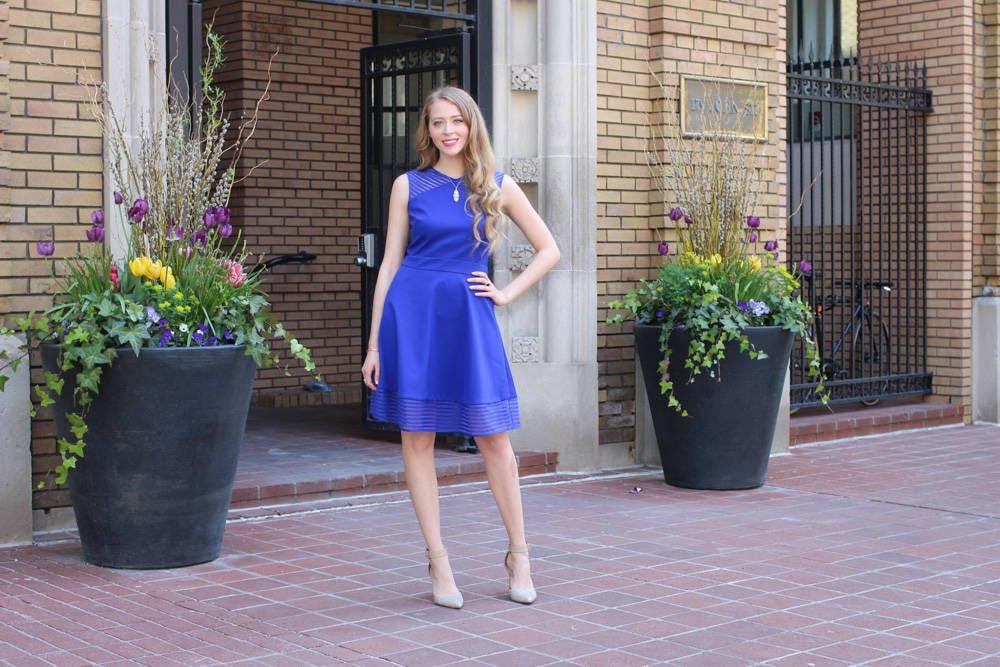 The New LBD: The Little Blue Dress