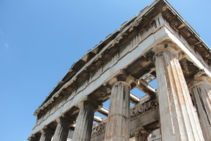 temple of hephaestus ancient agora