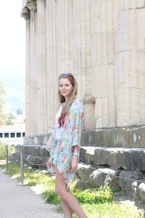 temple of hephaestus outfit mint kimono