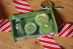 the body shop olive christmas gift set