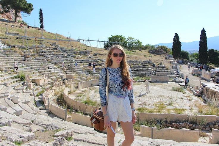 theatre of dionysus acropolis