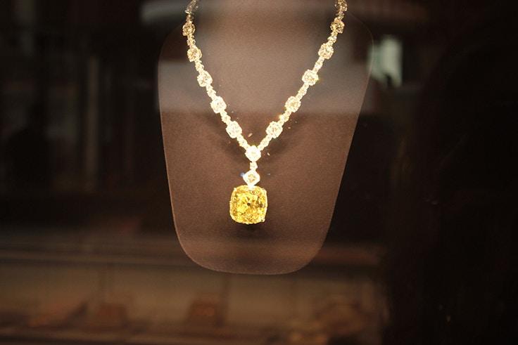 tiffany diamond yellow