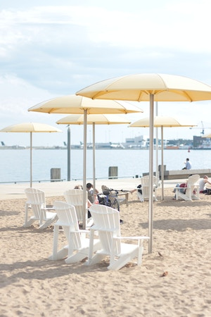 urban beach toronto harbourfront