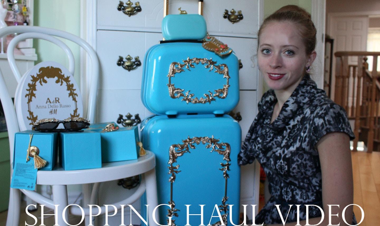 Anna Dello Russo Shopping Haul Video