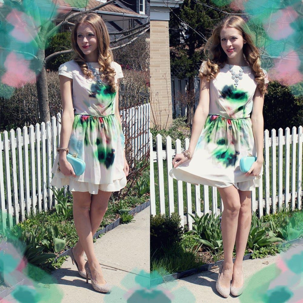 Watercolour Dress