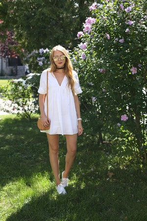 white labor day outfit romper