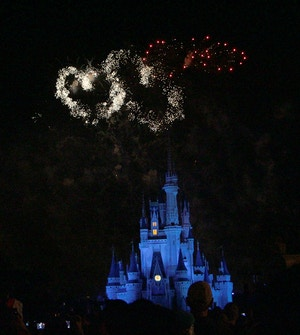 wishes magic kingdom fireworks