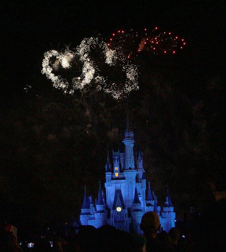 wishes magic kingdom fireworks