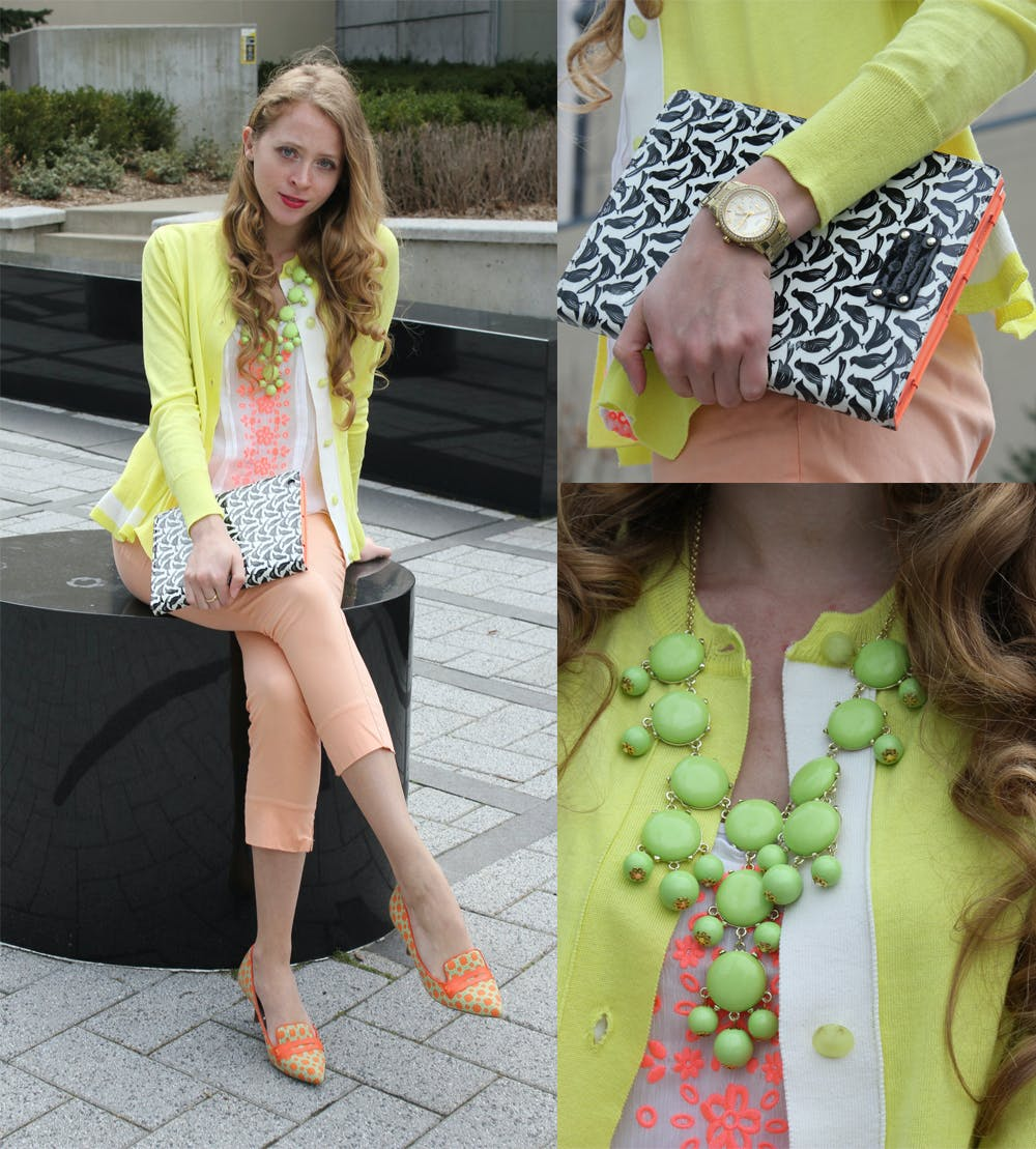 Citrus Colours and Kate Spade iPad Case