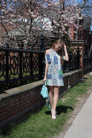 zara cherry blossom dress (6 of 14)
