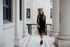 zara fringe skirt (5 of 10)