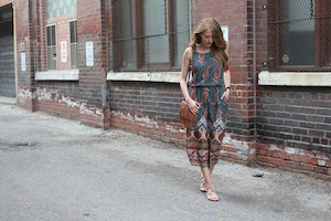 zara paisley jumpsuit (6 of 9)