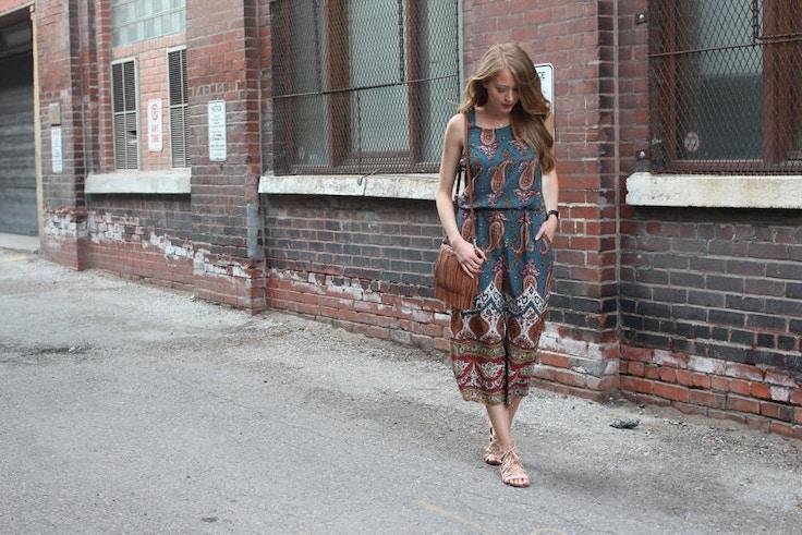 zara paisley jumpsuit (6 of 9)