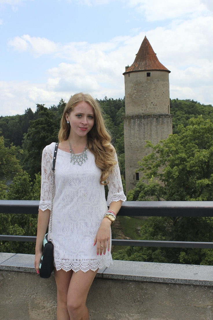 zvikov castle tower view