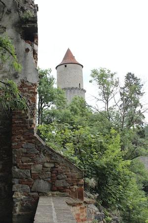 zvikov castle tower