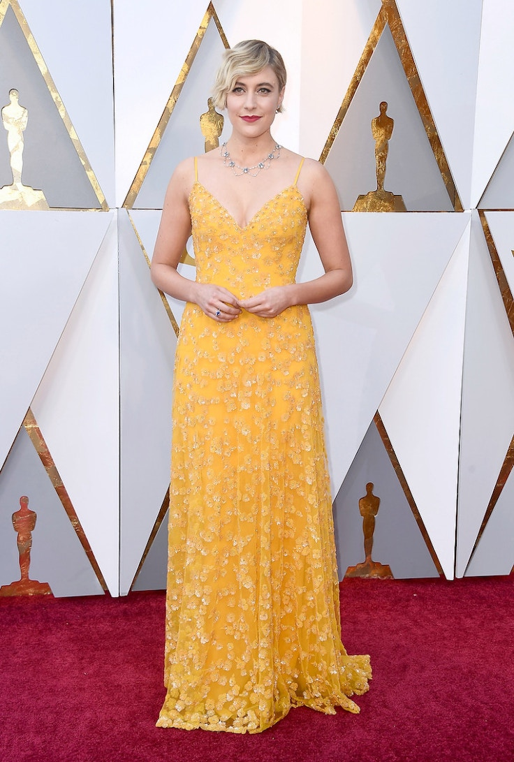 HOLLYWOOD, CA - MARCH 04: Greta Gerwig attends the 90th Annual Academy Awards at Hollywood & Highland Center on March 4, 2018 in Hollywood, California. (Photo by Frazer Harrison/Getty Images)