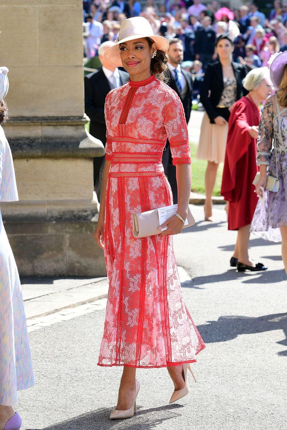 gina torrest best dressed at the royal wedding