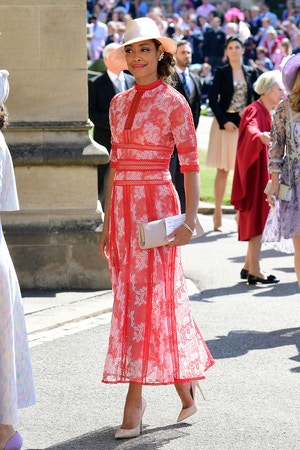 gina torrest best dressed at the royal wedding