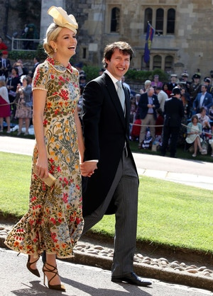 sofia wellesley james blunt at the royal wedding