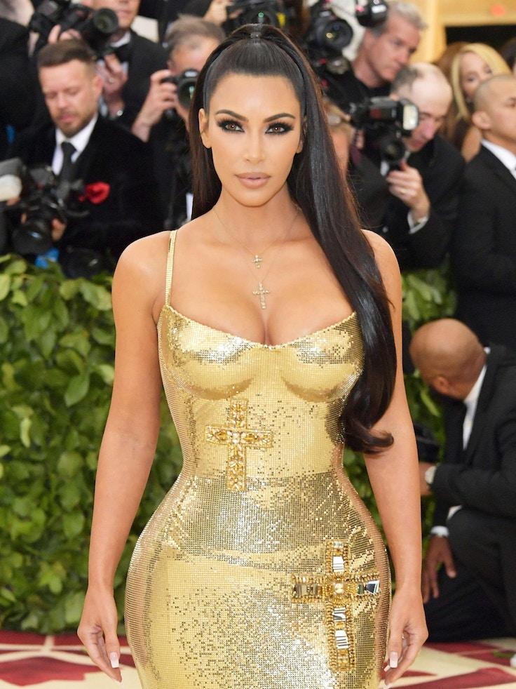 kim kardashian versace met gala