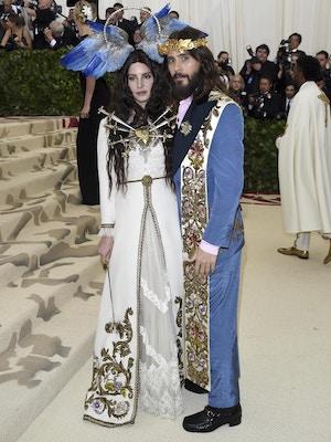 lana del rey and jared leto gucci met gala
