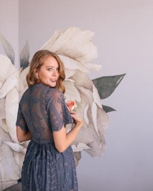 prom dress under $100 purple lace maxi (8 of 8)