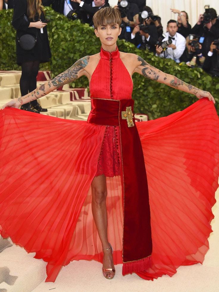 ruby rose met gala