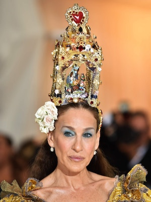 sjp dolce and gabbana met gala