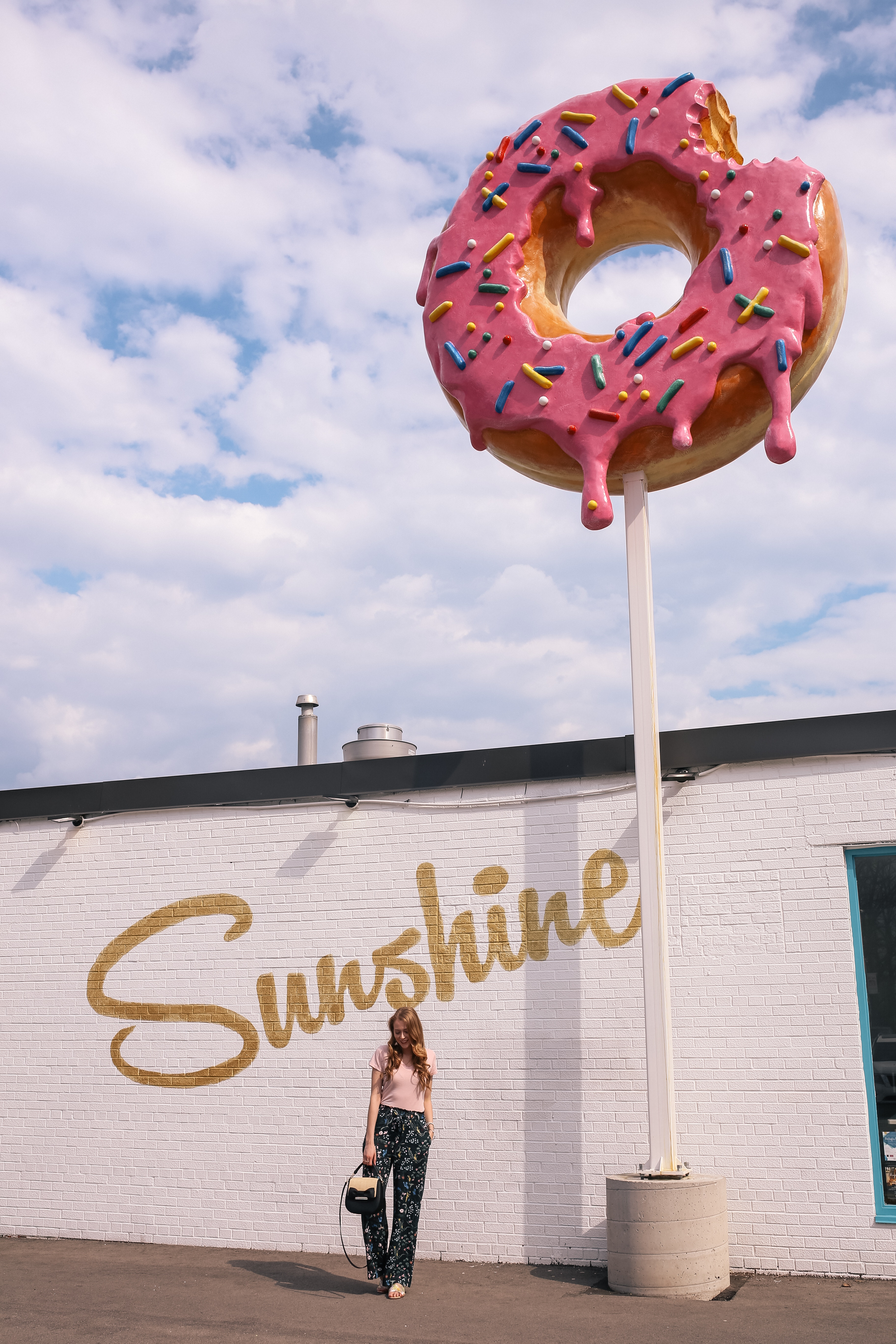 sunshine donuts burlington donut sign