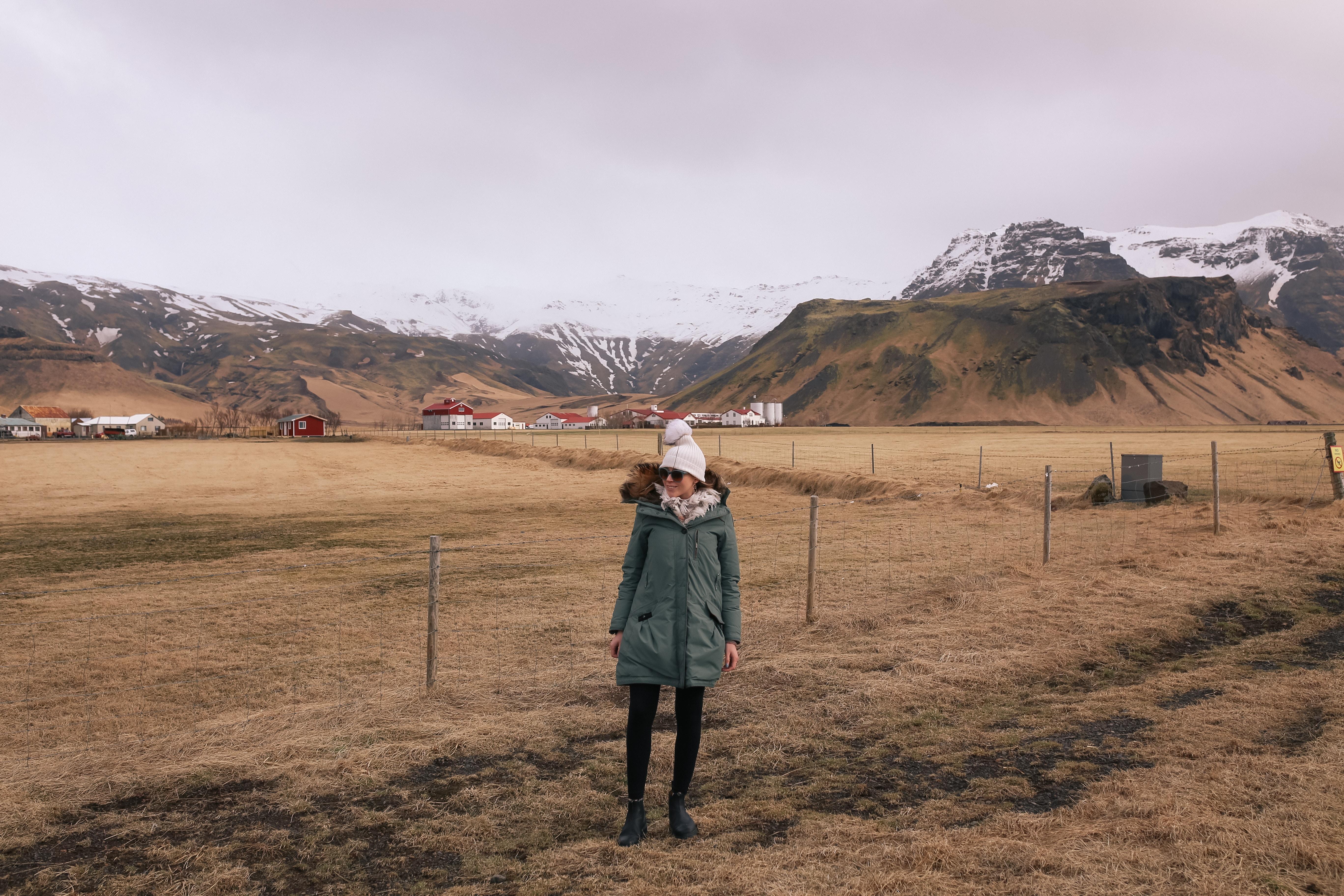 Eyjafjallajökull volcano in South Iceland