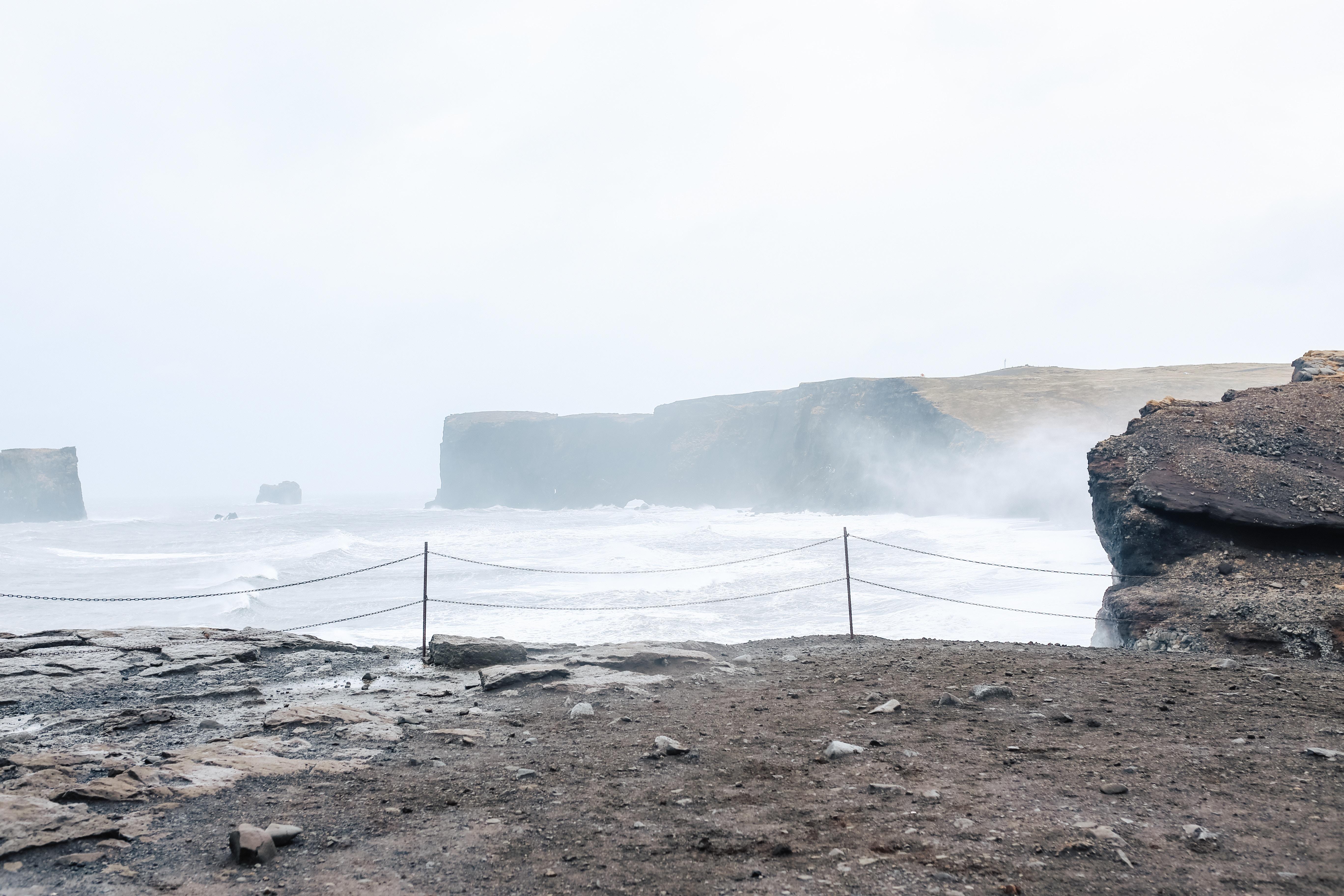 Dyrhólaey in Vík, Iceland.