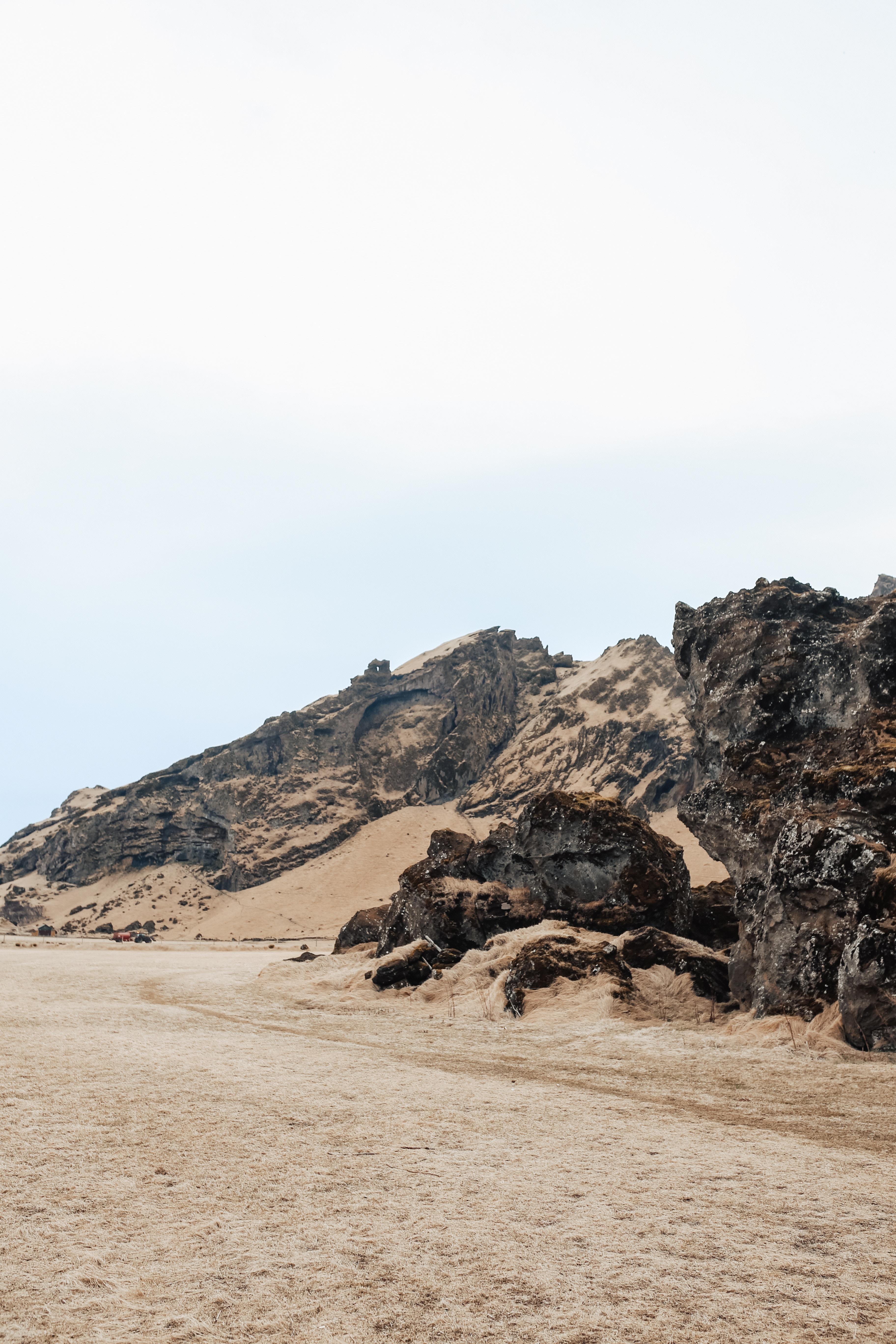 Rugged landscape of Iceland
