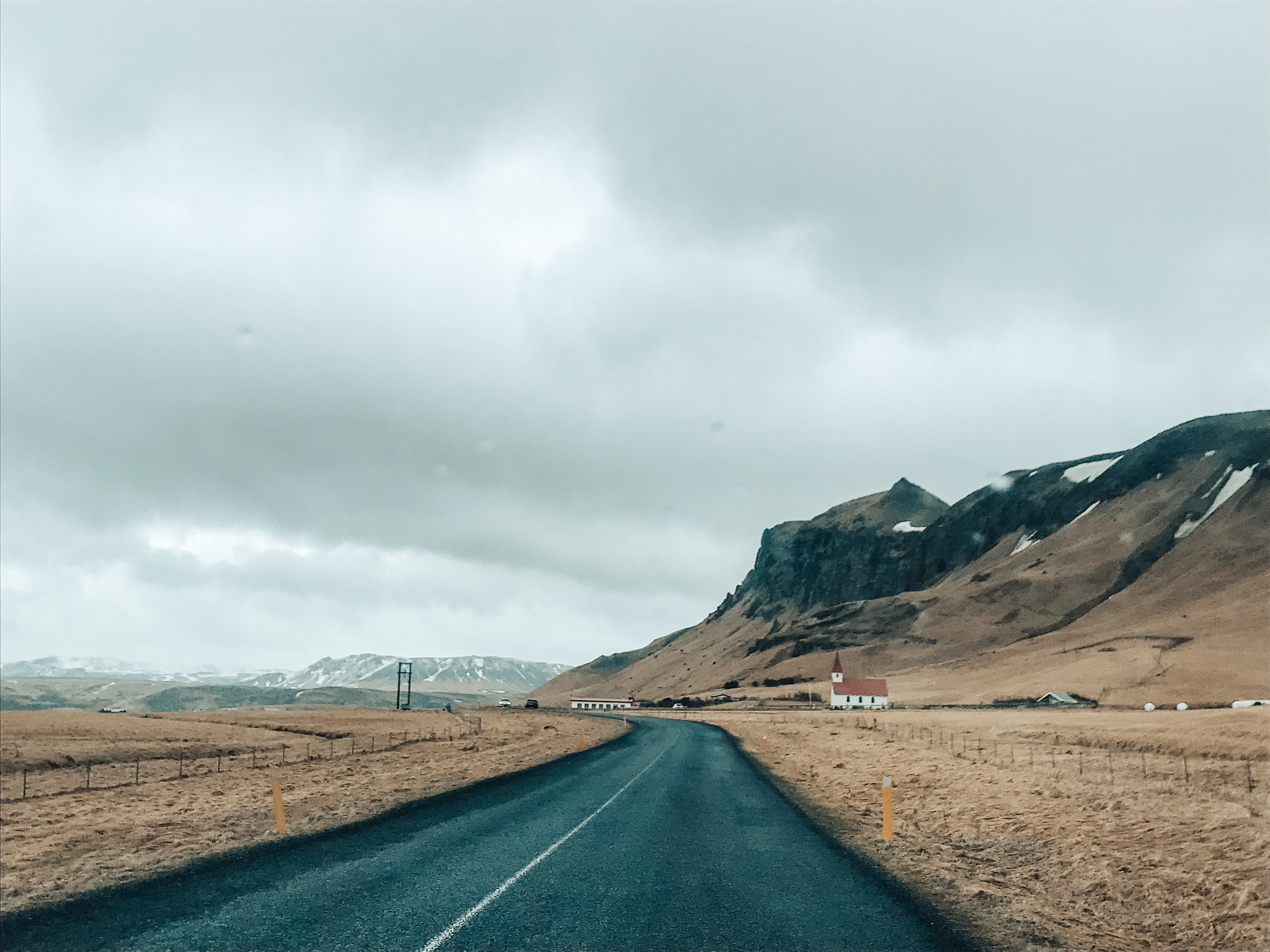 Road to Vik, in South Iceland