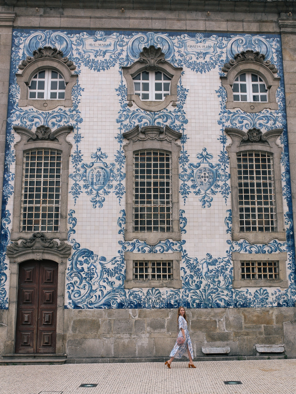 igreja do carmo azulejos blue tiles