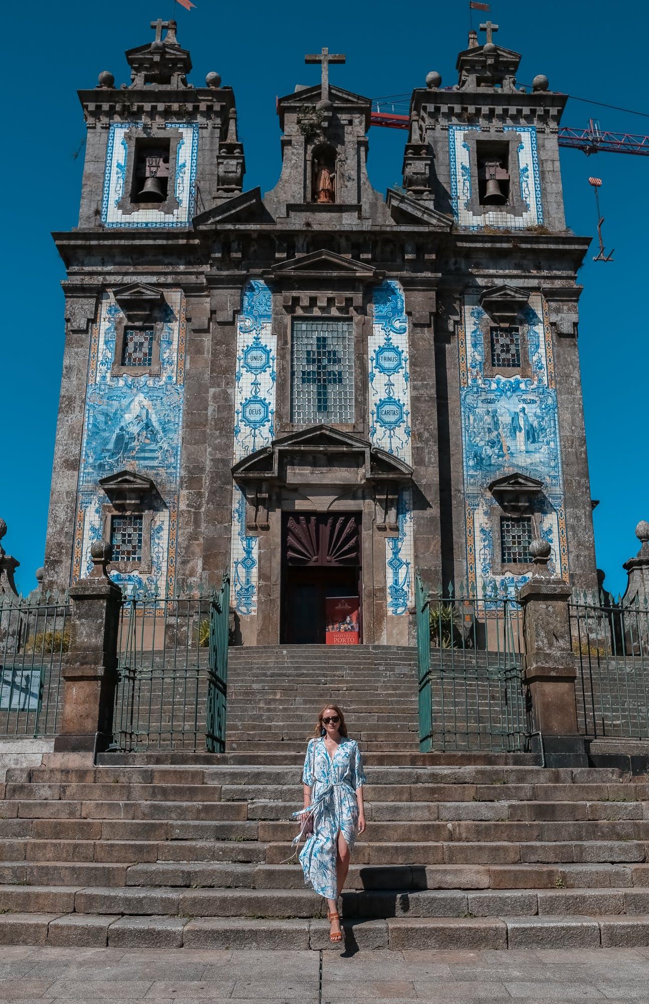 Church of Saint Ildefonso, Porto azulejos tiles