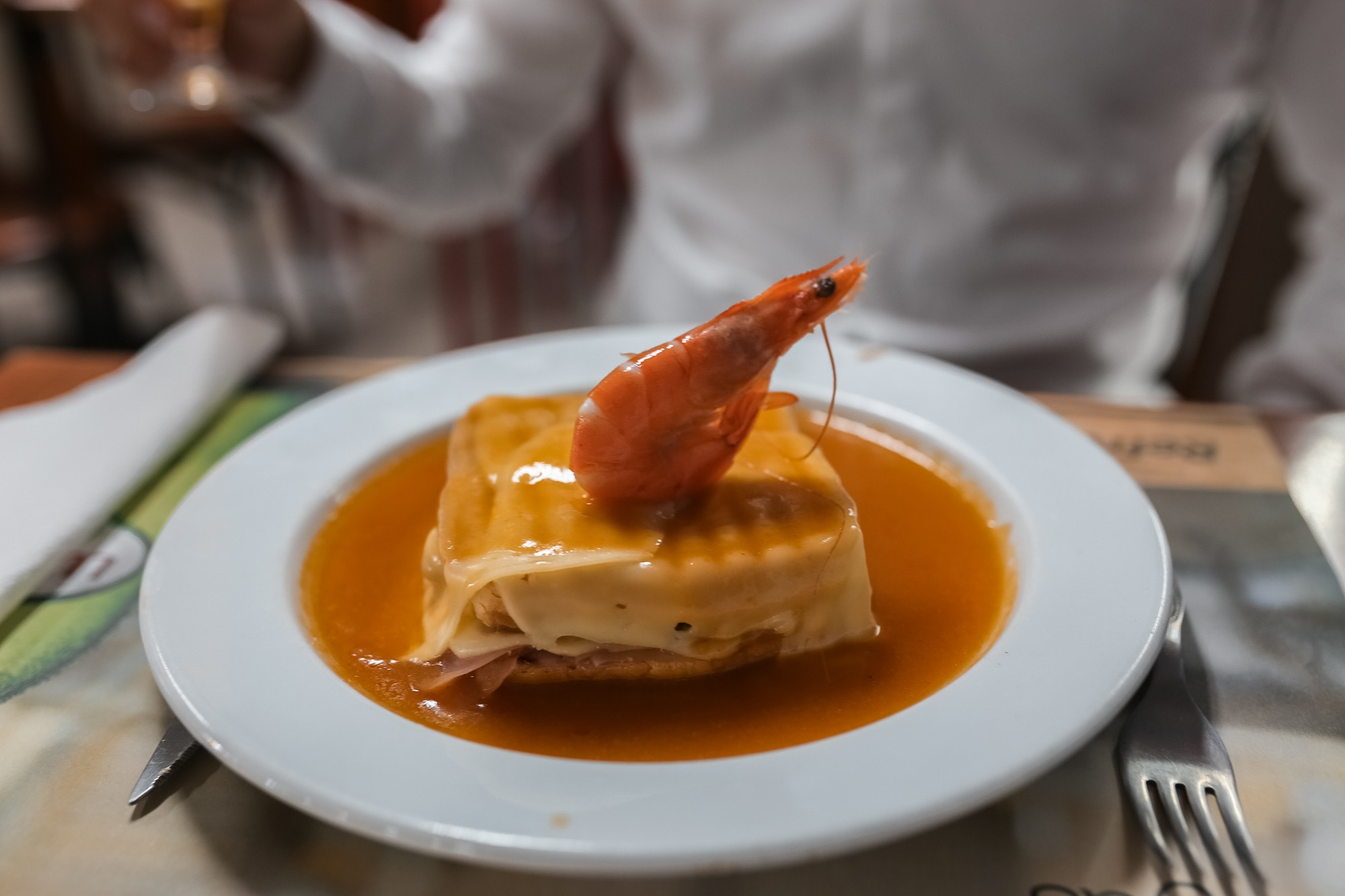 Francesinha sandwich porto must eat