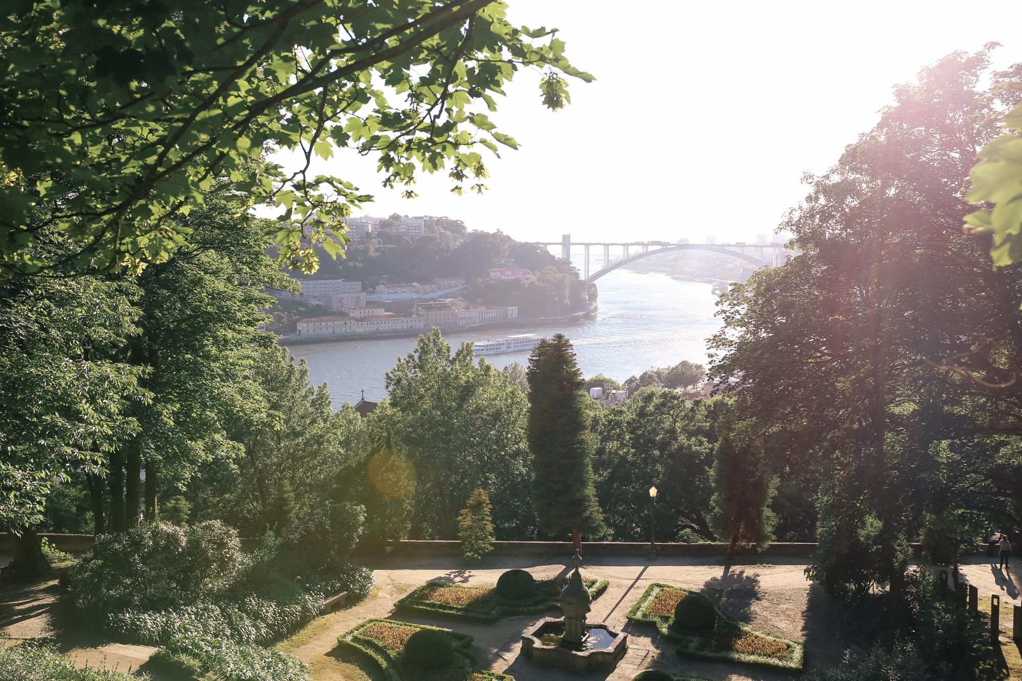 jardins do palacio de cristal porto
