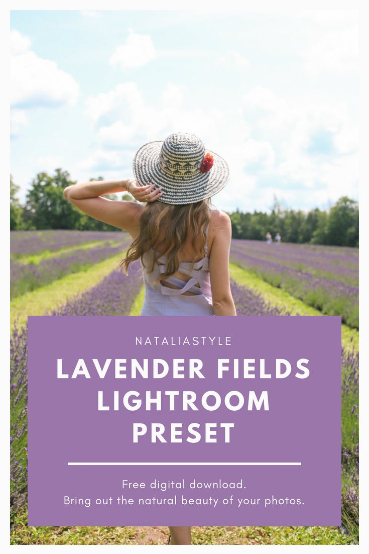 Download a free lightroom preset! Perfect for outdoor photos of nature and people, this warm preset brings out yellows, greens and purples,